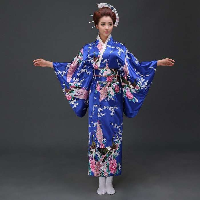 История и эволюция японского кимоно-9 фото-