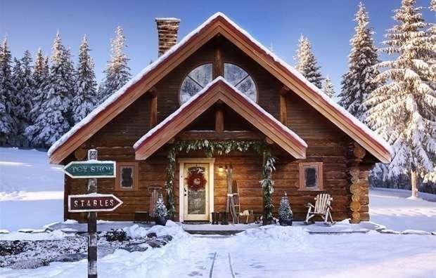 Сказочный домик Санта Клауса-15 фото-