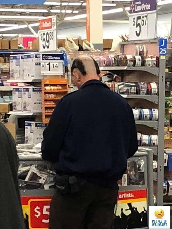 Экстравагантные покупатели Walmart-29 фото-