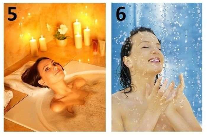 Что лучше: ванна или душ?-8 фото-