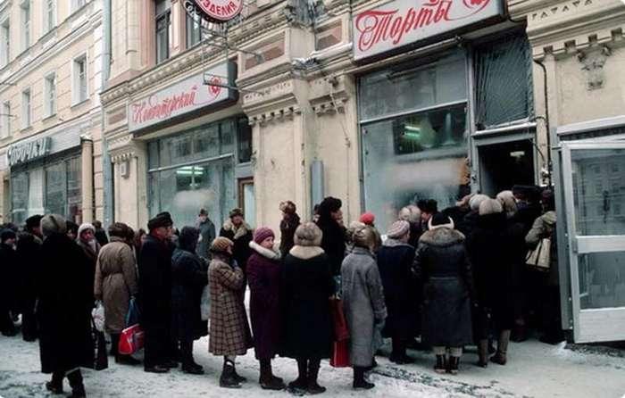 Как отмечали Новый год в СССР-14 фото-