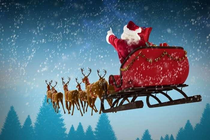Мифы Западного Рождества: в упряжке Санты вовсе не олени-2 фото-