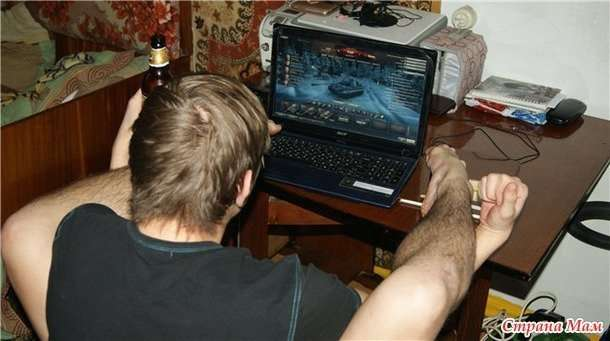 Что делать, если муж постоянно играет в компьютерные игры?-9 фото-