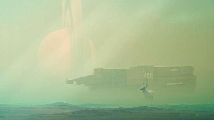 Фантастические миры эстонского художника Кулдара Лимента-35 фото-