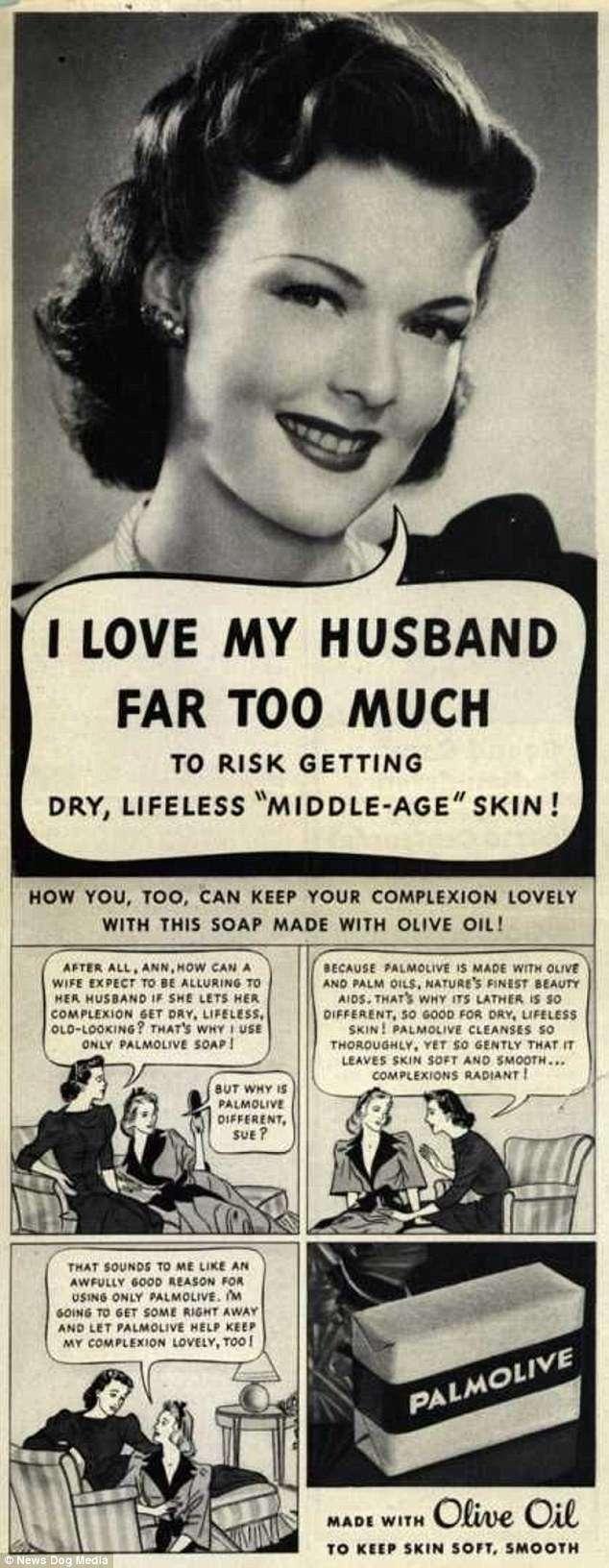 -Успешные браки начинаются на кухне-: сексистские рекламные объявления 40-х, 50-х и 60-х годов-22 фото-