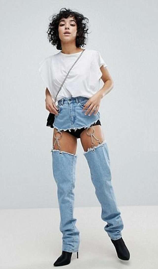 Оставили с голой задницей: джинсы с интернет-магазина ASOS взбудоражили соцсети-6 фото-