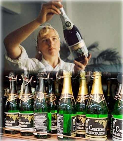 Кто и когда создал Советское шампанское?-3 фото + 1 видео-
