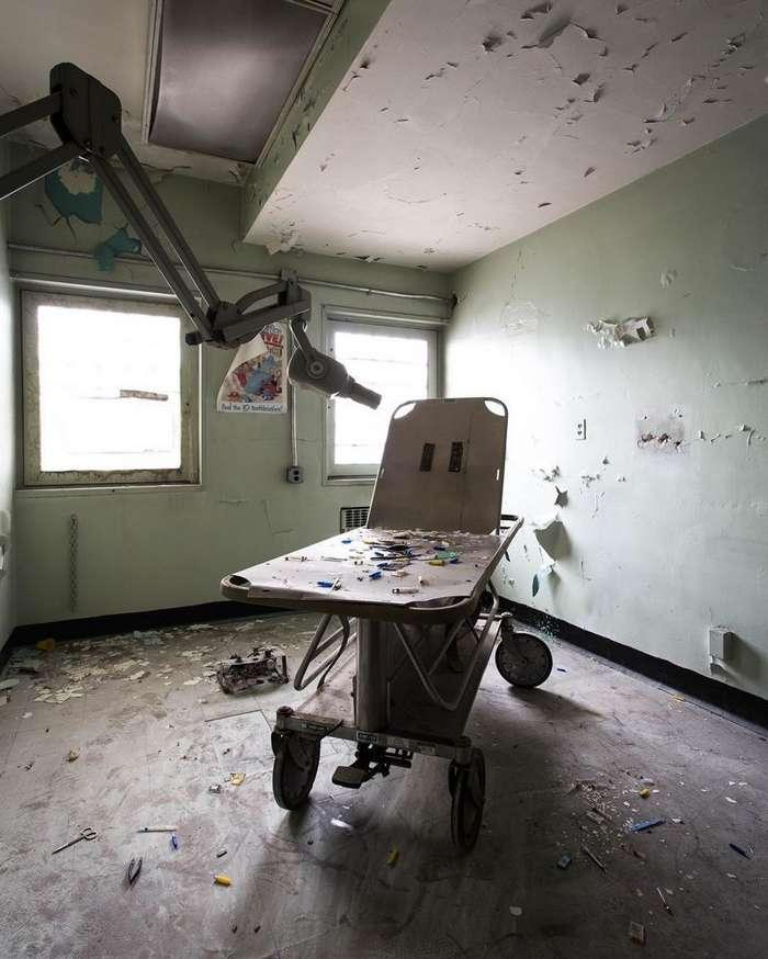 Американка фотографирует заброшенные места во всех уголках США-47 фото-