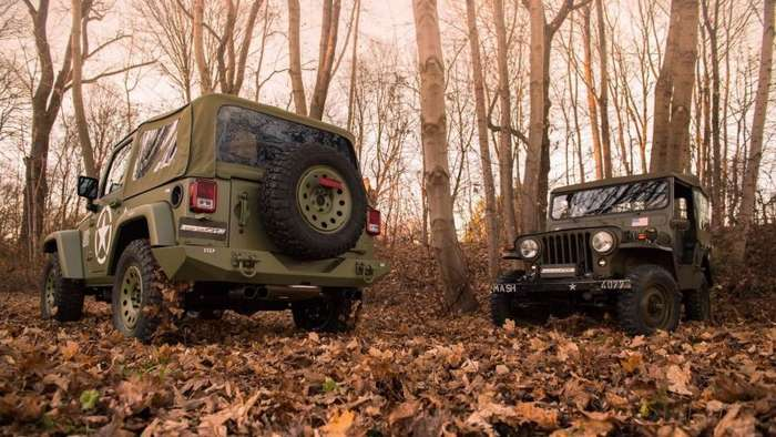 Jeep Wrangler: как Geiger Cars -возродил- дух Willys-17 фото-
