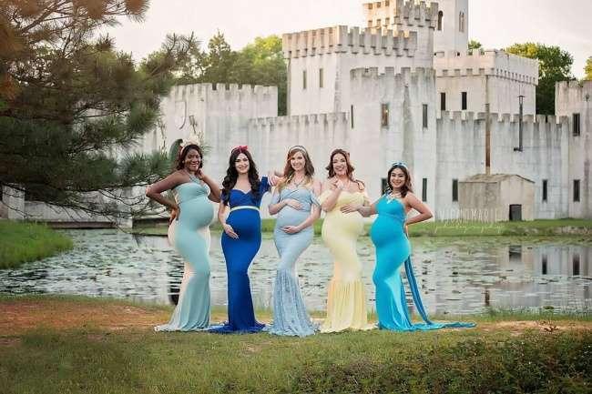 Фотограф отказалась отобычных снимков беременных ипревратила будущих мам вгероинь Disney