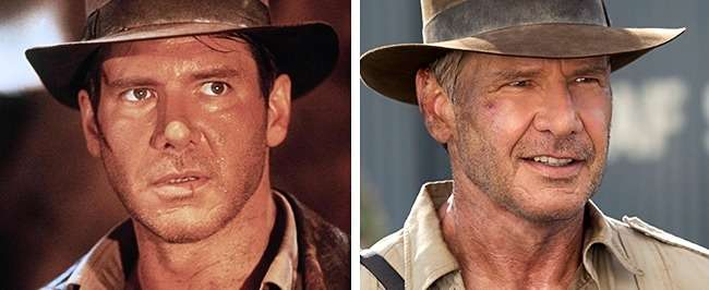 Посмотрите, как выглядели персонажи любимых фильмов впервой ипоследней части