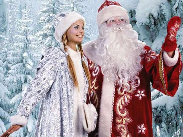 История изменений Деда Мороза