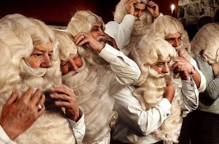 Как выглядел Санта-Клаус 50–100 лет назад