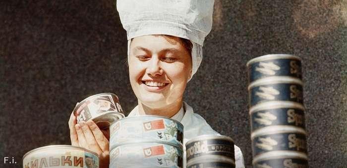 Пример вирусной рекламы времён СССР