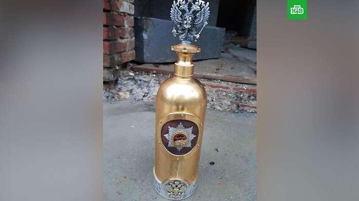 В Дании украденную бутылку водки стоимостью $1,3 миллиона долларов нашли пустой