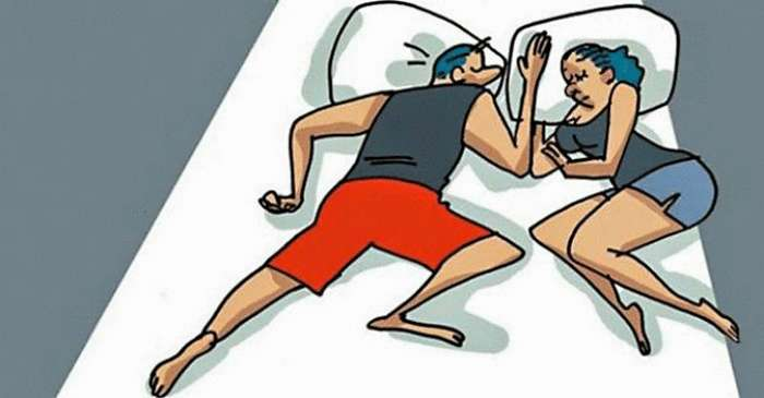 Позы сна, которые раскрывают отношения пары