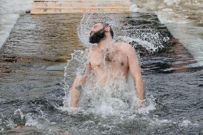 Правила подготовки к купанию на Крещение