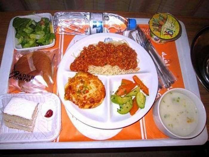 Обеды в больницах разных стран