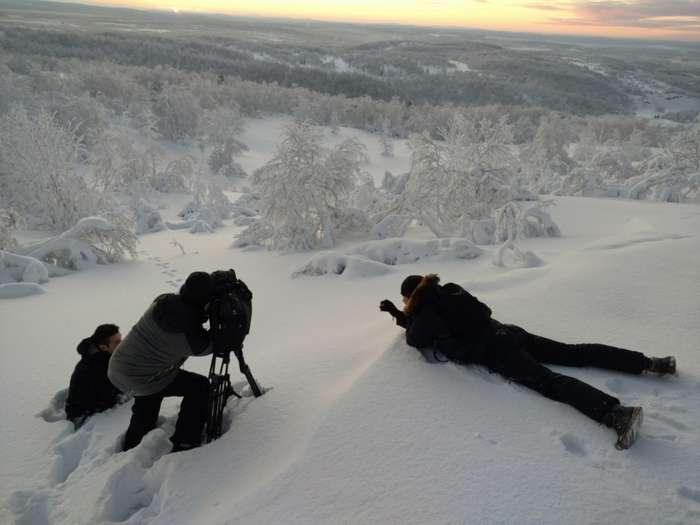 Жители Мурманска встретили первый рассвет в этом году