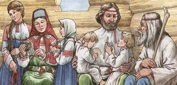 История зарождения русских фамилий