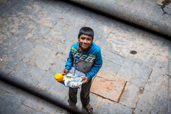 За чертой бедности: один день из жизни непальской семьи