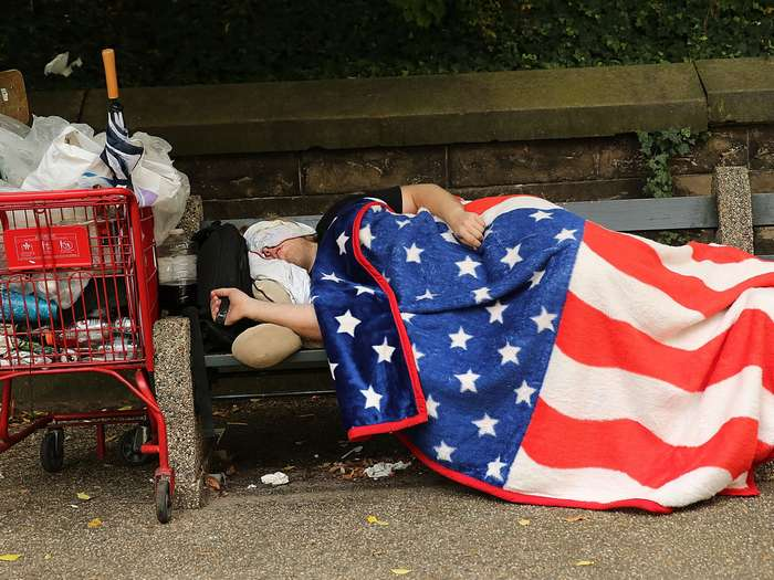 an analysis of the homeless people in the united states