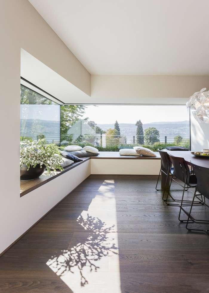 Дизайн и интерьер виллы в Цюрихе