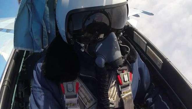 Удивительное видео от российских ВВС