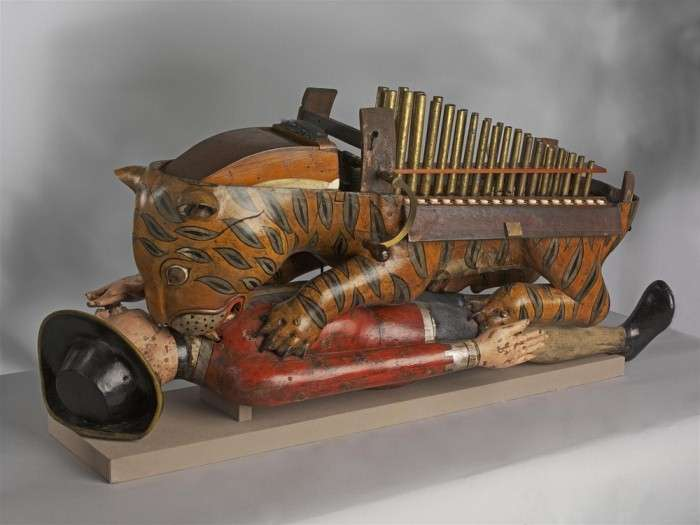 Тигр Типу &8211; деревянная механическая игрушка индийского султана