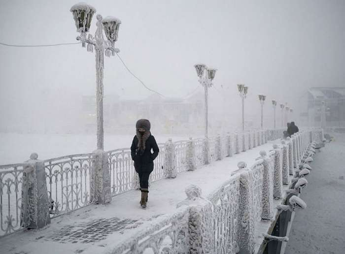 Когда зима дает жару и показывается во всей красе (17 фото)