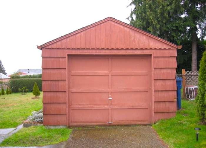 Девушка переоборудовала гараж в полноценный дом площадью всего 23 кв. метров