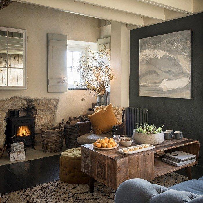 Уютный английский дом, в котором хочется провести новогодние праздники безвылазно