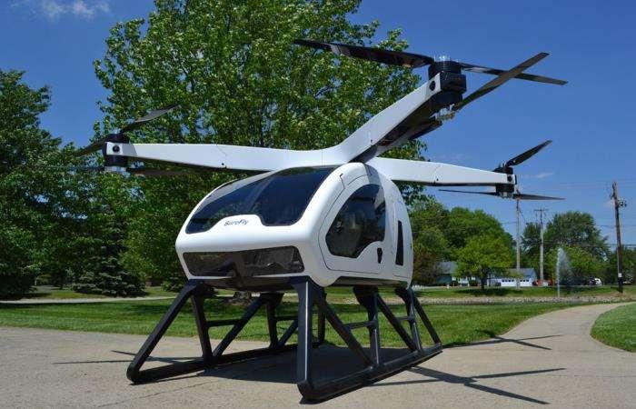 Новейший октокоптер для полётов с автопилотом поднимется в небо уже на будущей неделе