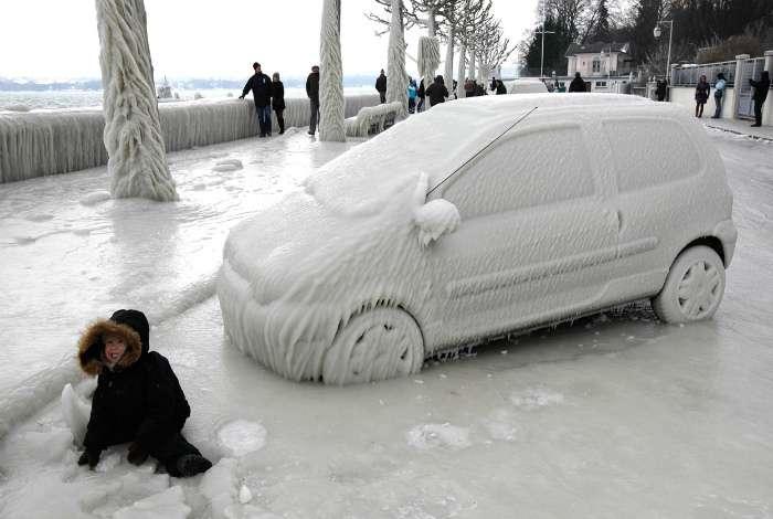 17 действительно морозных фотографий, на которых запечатлены все -прелести- зимы