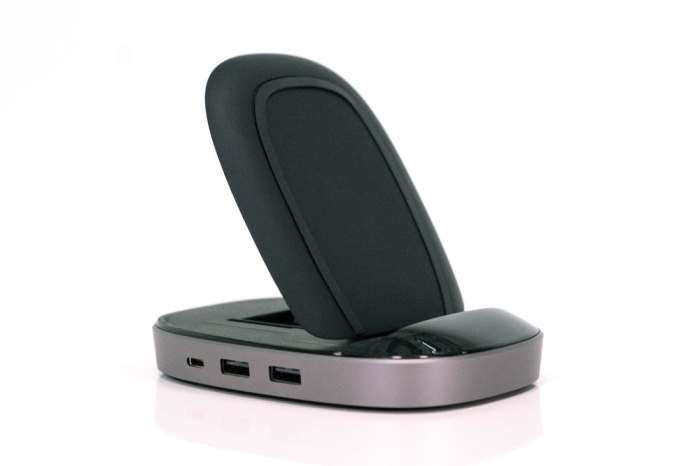 Подставка HyperDrive поможет зарядить телефон без проводов и добавит -дырок- компьютеру