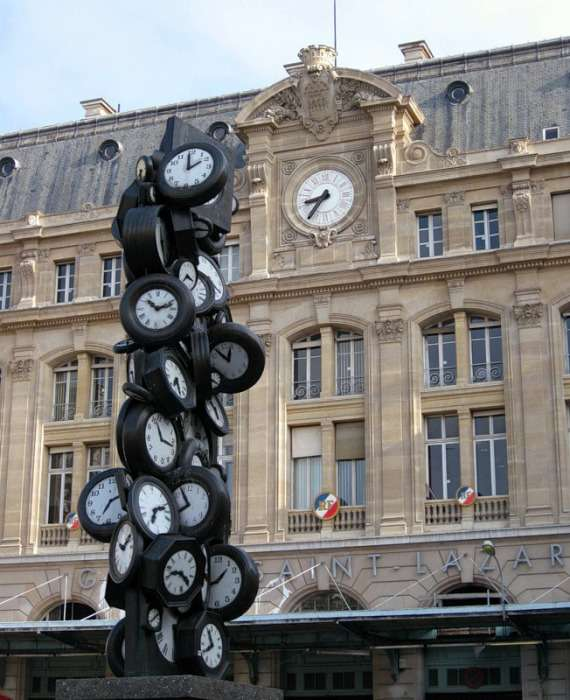 Часы с историей, или 16 необычных городских -украшений-