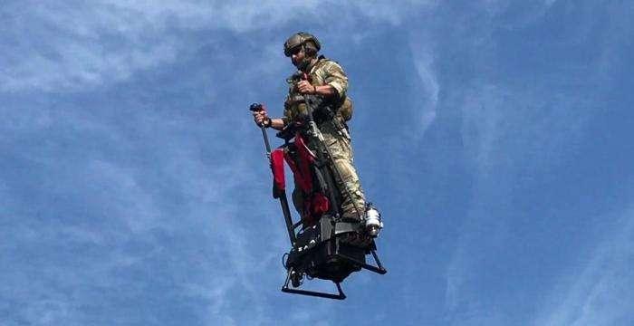 Летающий сигвей, который изменит представление об индивидуальном транспорте