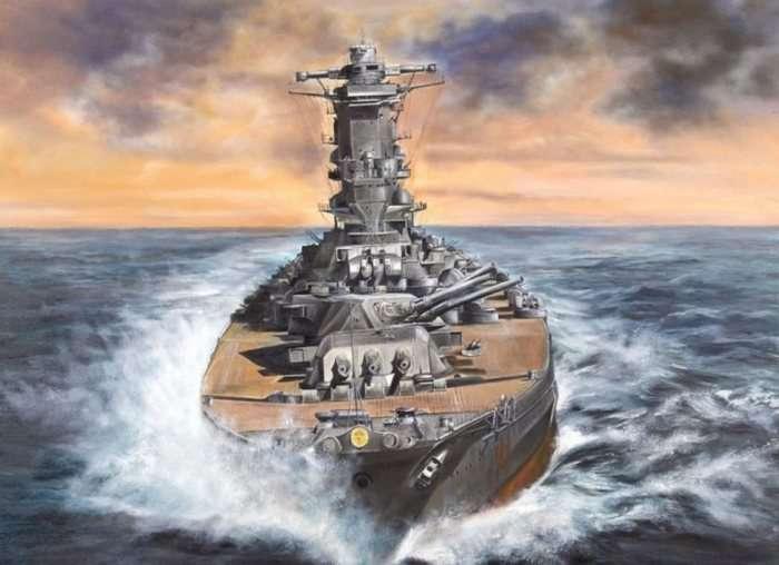 Суперлинкоры класса -Ямато-, с помощью которых Япония грезила победить Америку на море