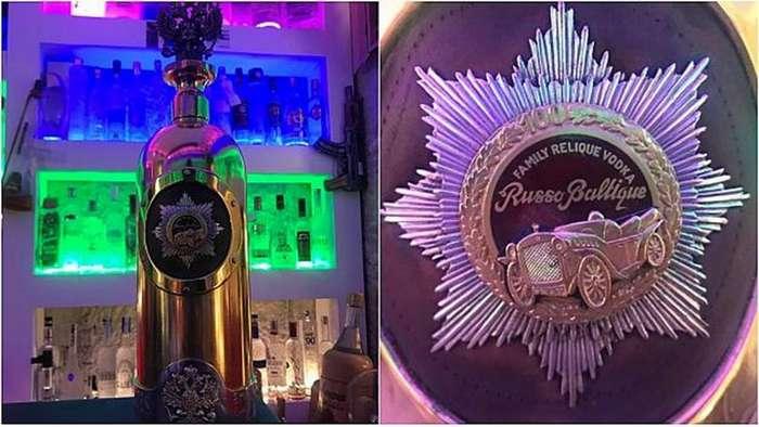 Из бара Café 33 была украдена бутылка водки стоимостью $1,3 млн