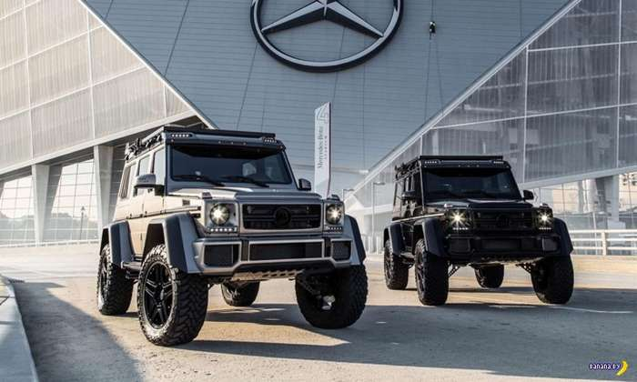Mercedes-Benz G550 Brabus 4&215;4 Squared
