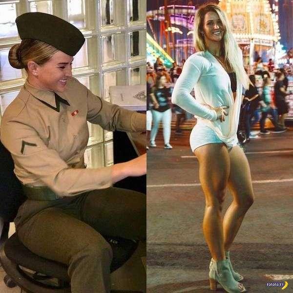 Мадам, униформа вам к лицу!