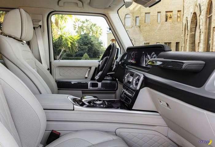А как вам 2019 Mercedes-AMG G63?