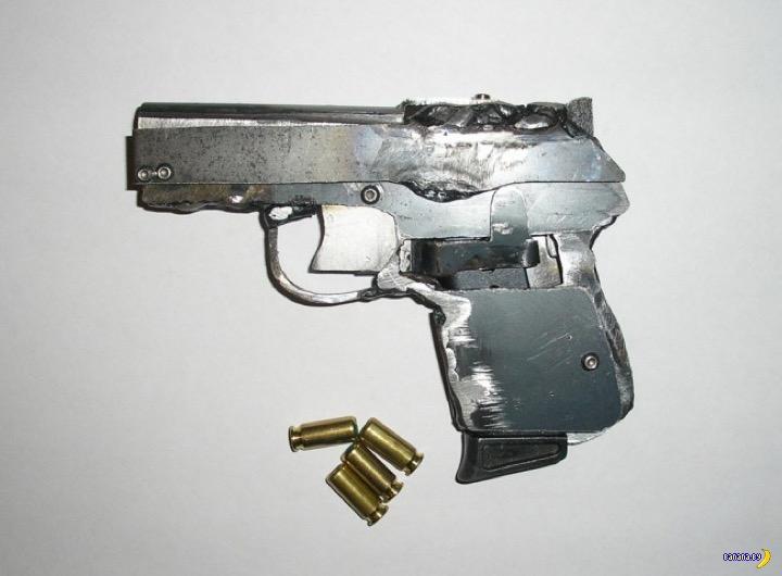 Это не мусор, это пистолет