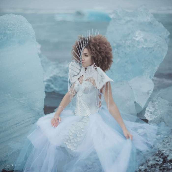 Уникальный художественный проект -Сущность жизни - таянье ледников-