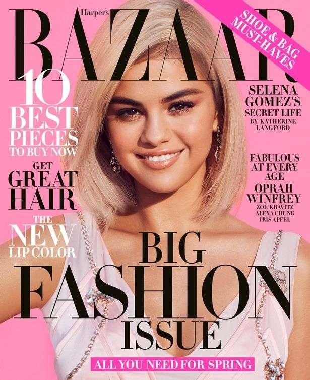 Селена Гомес - звезда журнала Harper&039;s Bazaar, март 2018