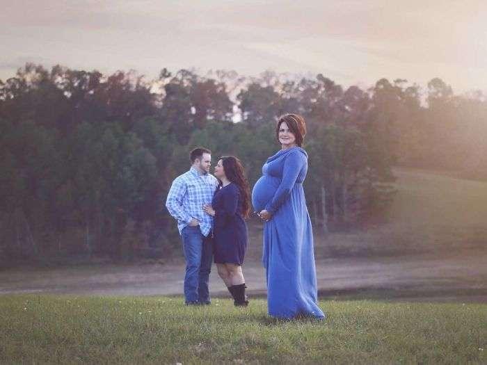 50-летняя бабушка стала суррогатной матерью для внука