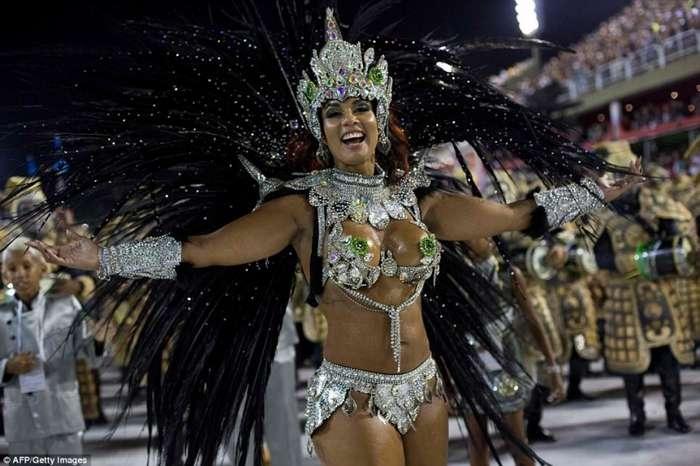 Величайшее шоу на Земле - карнавал в Рио-де-Жанейро