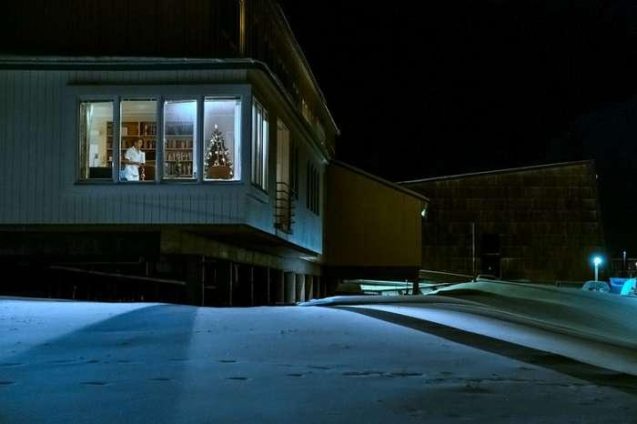Сказочная полярная ночь на Шпицбергене