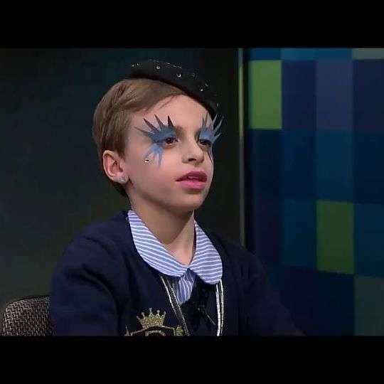 Мальчик-трансгендер Desmond Napoles стал звездой модного шоу Gypsy Sport
