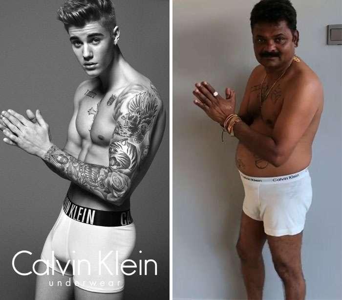 Инженер из Индии в своих фотографиях пародирует знаменитостей